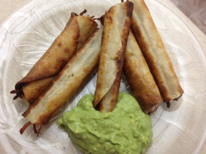 Homemade Shredded Beef Taquitos