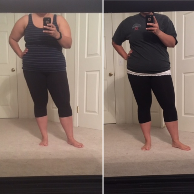 padweightloss-comparison-day-15-and-day-53