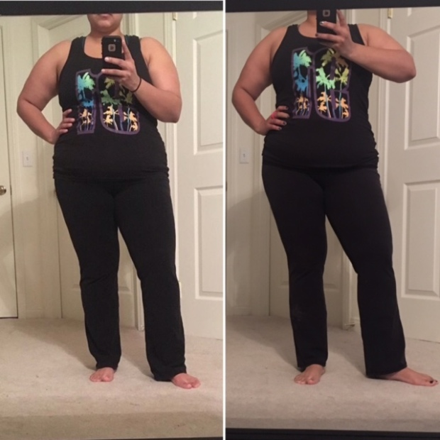 padweightloss-comparison-day-55-and-day-70